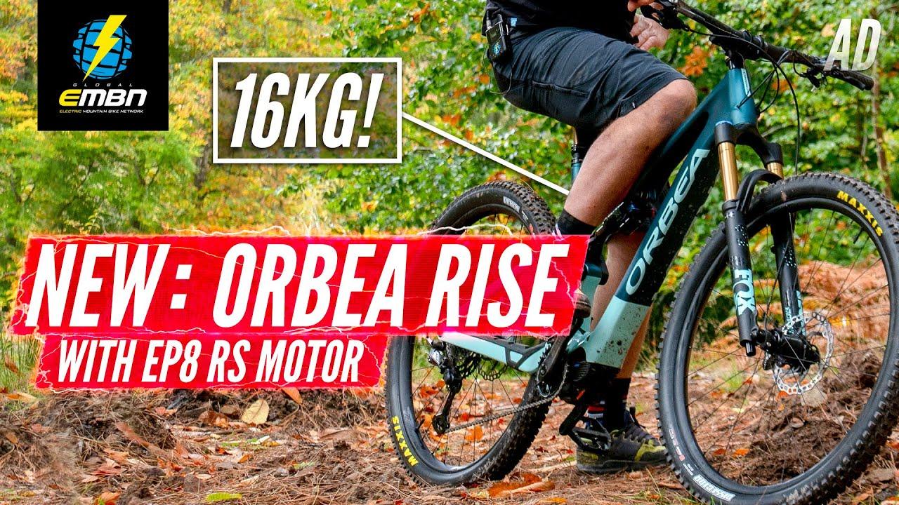 All New 2021 Orbea Rise - 16kg Lightweight Ebike!