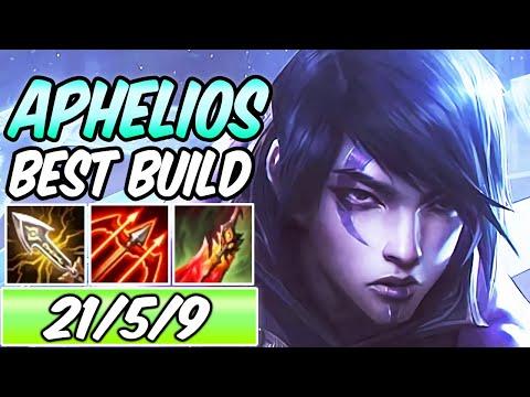 *BUFFED APHELIOS* INSANE CARRY | Best Crit Build & Runes | Aphelios ADC Gameplay | League of Legends