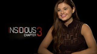 Insidious Chapter 3 Official Trailer And Cast Interview: Stefanie Scott, Dermot Mulroney, & More