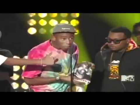 Tyler The Creator Winning Best New Artist