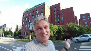 Holiday Inn Express - подробный обзор умного отеля. Роботы, чистота, комфорт, еда