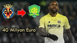 Cedric Bakambu, 40 milyon Euro'ya Beijing Guoan'a transfer oldu.