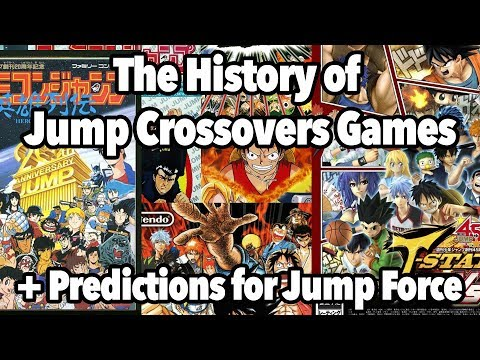 The History of Shonen Jump Crossover Games + Jump Force Character Predictions