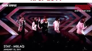 Kpop 2011- Năm Huy Hoàng Của Nhạc Kpop