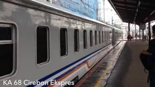 KA Cirebon Ekspress BLB di Jatinegara