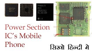 Mobile Phone power section ic