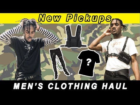 HUGE CLOTHING HAUL | New Pickups Spring/Summer 2018(Tactical Gear, Bondage Pants & More)