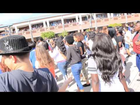 First Coast High School Thriller Flash Mob 2015