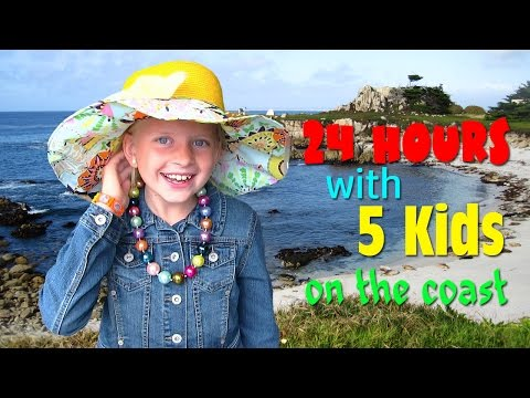24 Hours With 5 Kids on the Coast