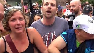 #BasedStoneFace Is A Rabid, Raving, Foaming At The Mouth Lunatic #Seattle (Leo Stratton Mirror)