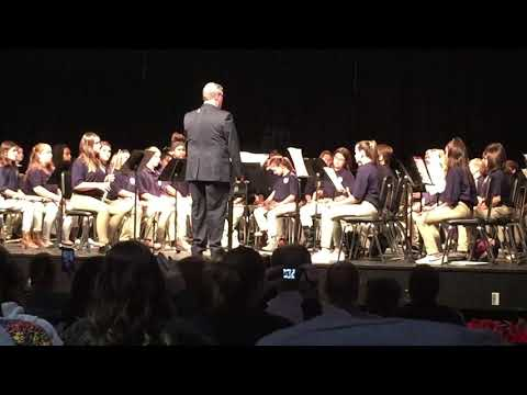 Swansboro Middle School Winter Band Concert 2017 Song 3