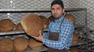 Öğretmenlik okudu, şimdi köyünde harç ekmeği yapıyor