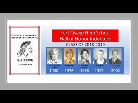2018-19 Fort Osage High School (FOHS)- Hall of Honor