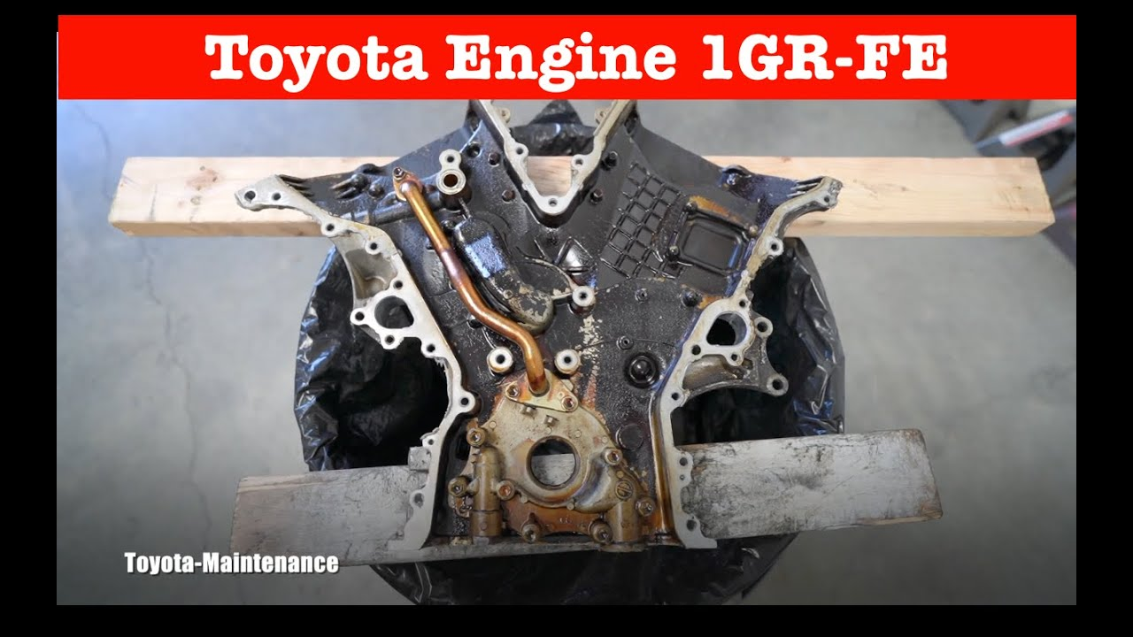Toyota 1GR-FE Timing Chain Cover re-seal Tips&Tricks