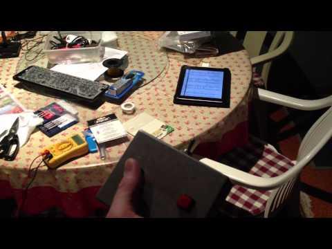 DIY iPad Wireless Page Turner (Video 1)
