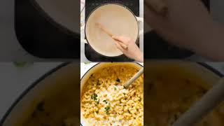 Сливочные макароны Рецепты еды еда рецепты delicious recipedelicious dinner recipes tiktok.food.asmr