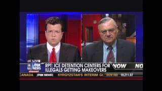 Sheriff Arpaio on Cavuto re: dance, cooking and bingo for illegal alien prisoners 06/11/2010