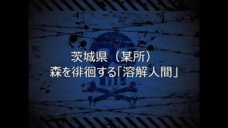 017 【怖い話】茨城県 某所 森を徘徊する「溶解人間」