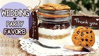 polymer clay cookies jar DIY - Wedding Favors ♥ Cookie Mix In a Jar + Edible Cookies recipe!
