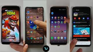 OnePlus 6 vs Samsung S9 plus vs Samsung S8 vs OnePlus 5T Speed test/Comparison/Benchmarks