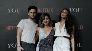 Penn Badgley and Shay Mitchell in Manila | #NetflixIsHere4YOU