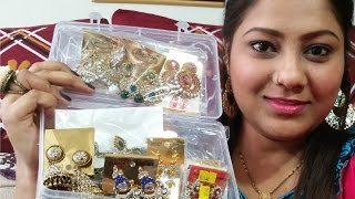 Indian Jewelry Haul - Part -1 / Ear Rings