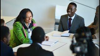 Isabel dos Santos responde a estudantes Africanos em Warwick | Sharing by Isabel dos Santos