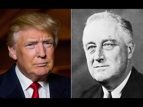 Donald Trump Compared To FDR