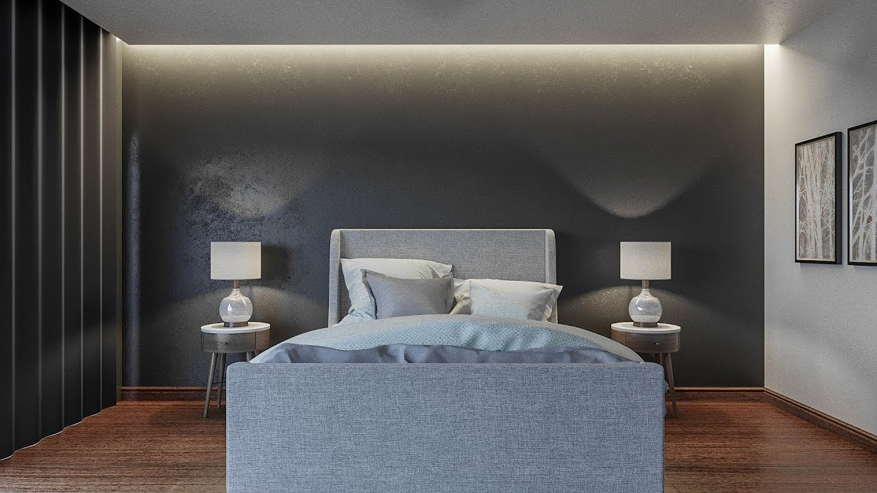 Smax Bedroom Lighting Tutorial Corona Render