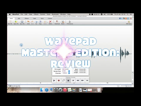 WavePad Master's Edition Audio Editor: Review - YouTube