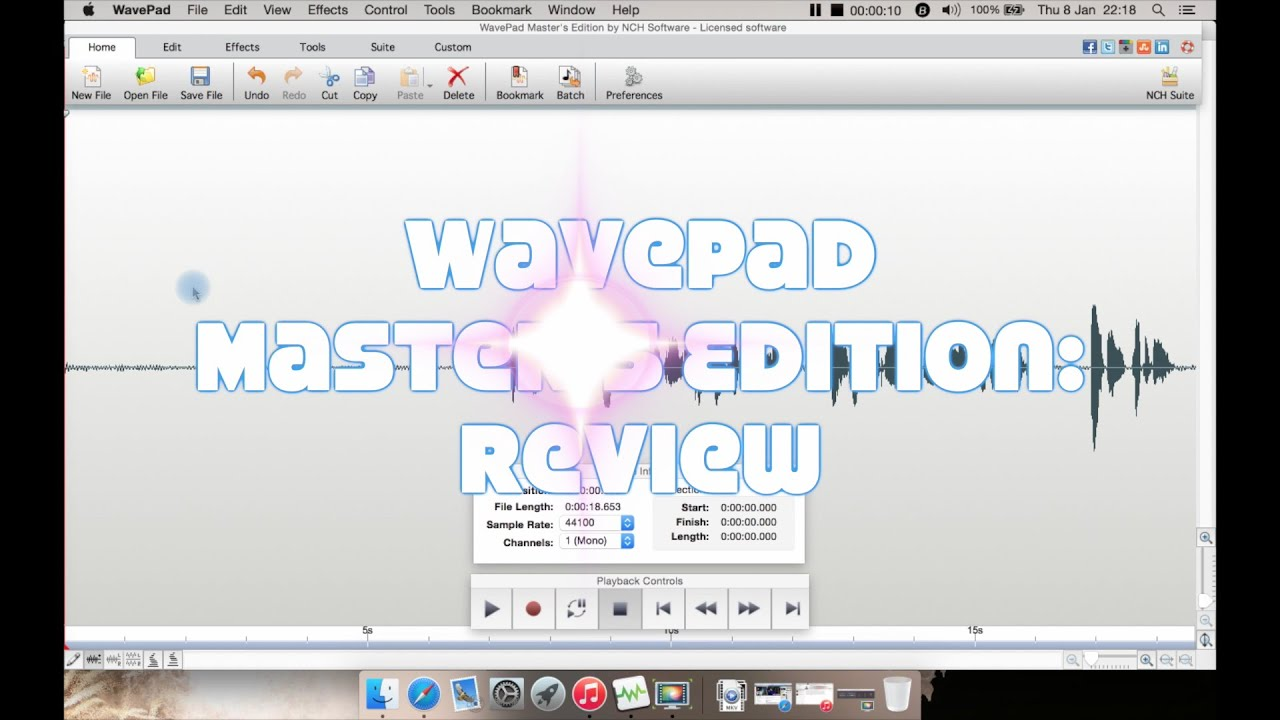 WavePad Master's Edition Audio Editor: Review
