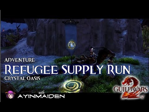 ★ Guild Wars 2 ★ - Adventure - Refugee Supply Run (Gold!) (Demo Weekend)
