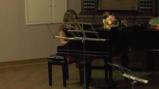 Мария Скородумова – «Старинная французская песенка» П.И. Чайковского.