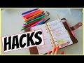 8 PLANNER HACKS YOU NEED TO TRY!!