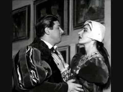 Maria Callas - Ove sono?...In quegli...Ah! segnata è la mia sorte - Anna Bolena - Scala 1957