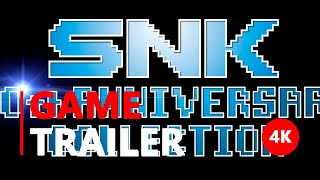 SNK 40th ANNIVERSARY COLLECTION - Launch Trailer - Nintendo Switch | 4K