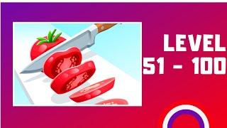 Perfect Slices Game Walkthrough LV51-100