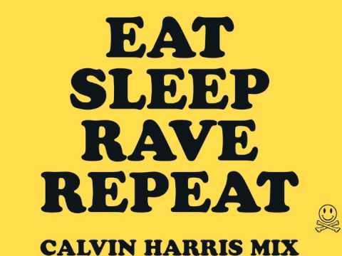 Fatboy Slim Riva Starr & Beardyman - Eat Sleep Rave Repeat (Calvin Harris remix)