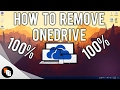 How to remove OneDrive from Windows 10! 2017