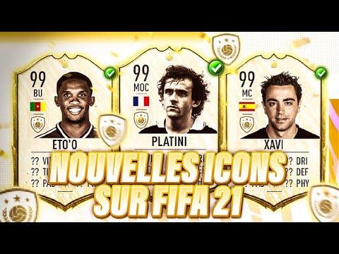 LES 15 NOUVELLES ICONES DE FIFA 21 ?