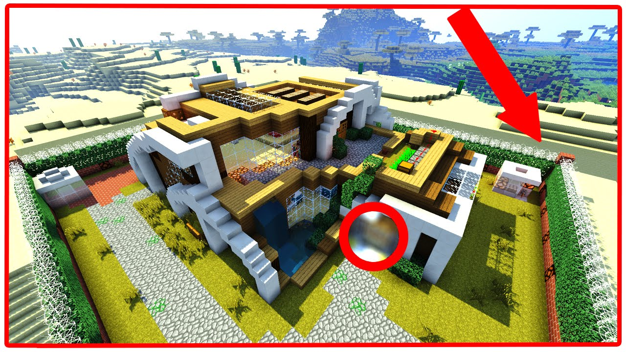 WORLD'S SAFEST MINECRAFT HOUSE!