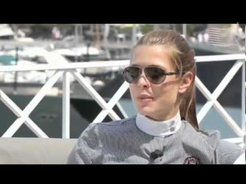 Interview -Charlotte Casiraghi and Jan Tops - GCT Monaco 2011