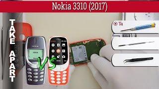 How to disassemble 📱 Nokia 3310 (2017) TA-1030 Take apart Tutorial