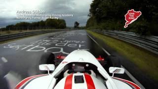 NÜRBURGRING Formel-Fahrzeug auf nasser Nordschleife thumbnail