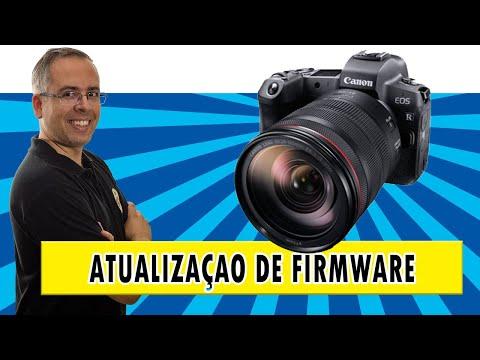 Como atualizar o firmware da sua câmera Canon EOS