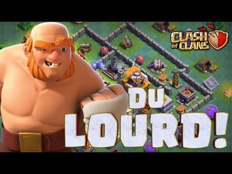 Clash of Clans 💪 VOUS ETES CHAUD POUR QU'ON ENVOIE DU PROPRE ?!