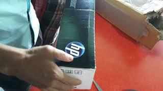 HP 12A laserjet print cartridge unboxing (amazon/flipkart)