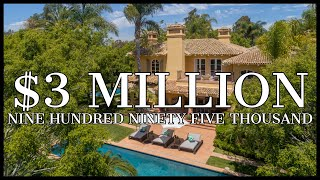 $3,995,000 FULL TOUR!!! Living in PARADISE with 2 pools, hockey arena, tennis & golf