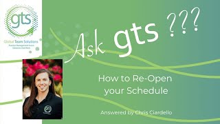 Ask Chris Opening Schedule 2020