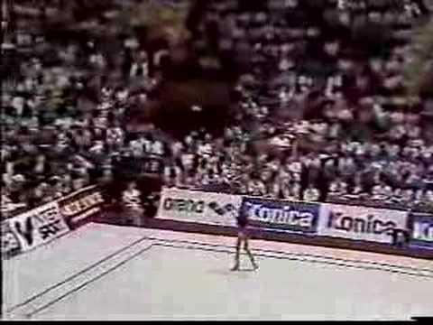 Anna Kotchneva (Nastia Liukin's Mom) Clubs - 1987 Worlds